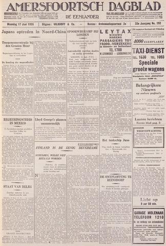 Amersfoortsch Dagblad / De Eemlander 1935-06-17