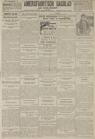 Amersfoortsch Dagblad / De Eemlander 1927-09-22