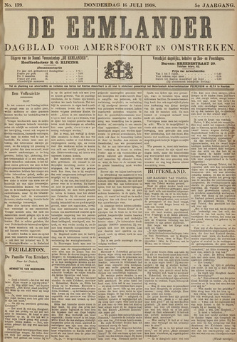De Eemlander 1908-07-16