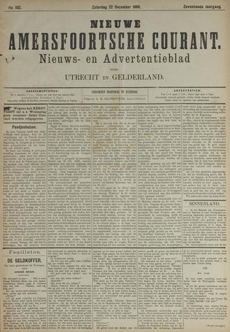 Nieuwe Amersfoortsche Courant 1888-12-22