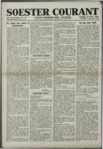 Soester Courant 1946-02-22