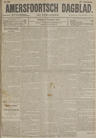 Amersfoortsch Dagblad / De Eemlander 1917-02-02