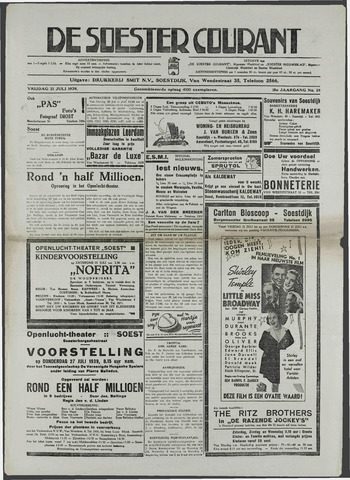 Soester Courant 1939-07-21