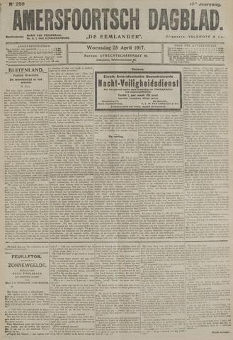 Amersfoortsch Dagblad / De Eemlander 1917-04-25