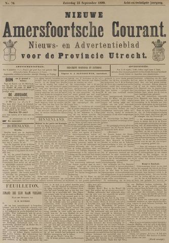 Nieuwe Amersfoortsche Courant 1899-09-23