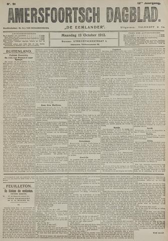 Amersfoortsch Dagblad / De Eemlander 1913-10-13