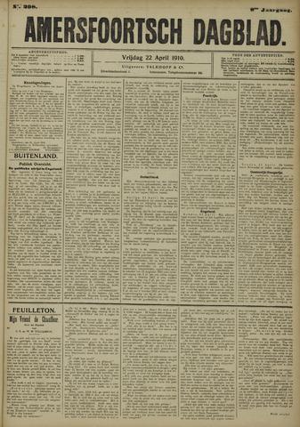 Amersfoortsch Dagblad 1910-04-22