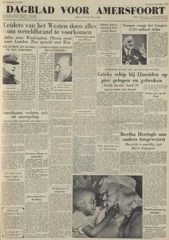 Dagblad voor Amersfoort 1950-12-02