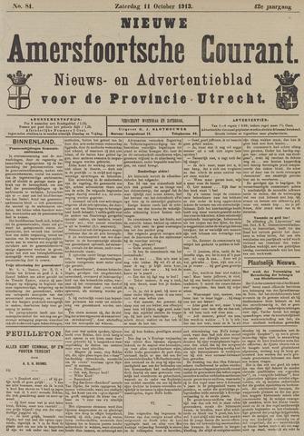 Nieuwe Amersfoortsche Courant 1913-10-11