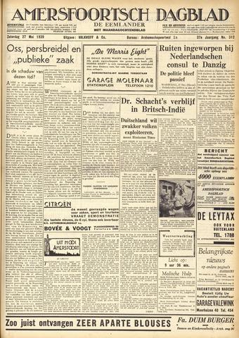 Amersfoortsch Dagblad / De Eemlander 1939-05-27