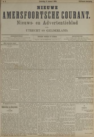 Nieuwe Amersfoortsche Courant 1886-01-09