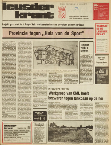 Leusder Krant 1981-10-27