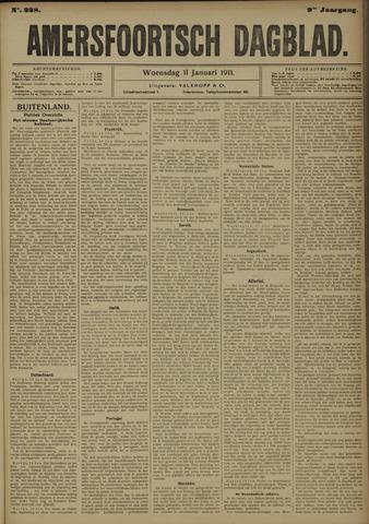 Amersfoortsch Dagblad 1911-01-11