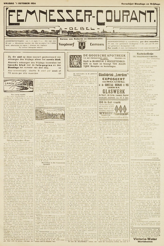 Eemnesser Courant 1924-10-31