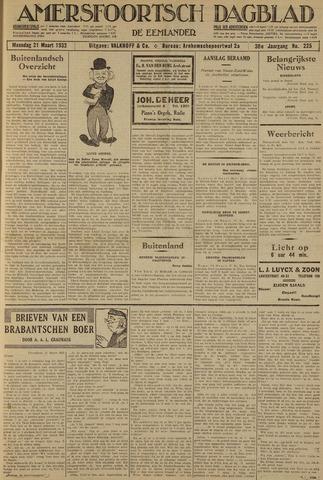 Amersfoortsch Dagblad / De Eemlander 1932-03-21