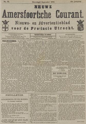 Nieuwe Amersfoortsche Courant 1916-09-06