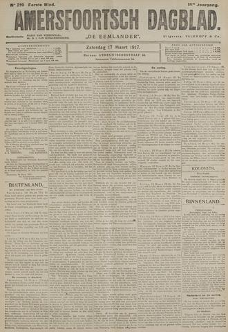 Amersfoortsch Dagblad / De Eemlander 1917-03-17