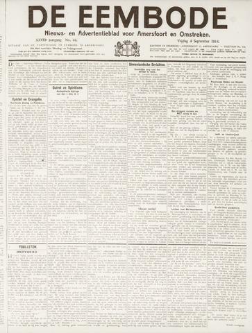 De Eembode 1914-09-04