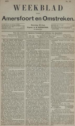 Weekblad voor Amersfoort en Omstreken 1872-06-22