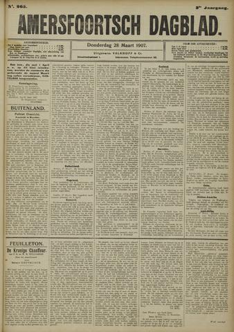 Amersfoortsch Dagblad 1907-03-28