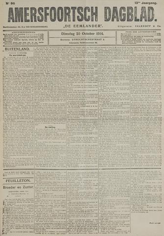 Amersfoortsch Dagblad / De Eemlander 1914-10-20