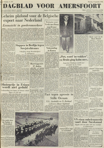 Dagblad voor Amersfoort 1951-09-03