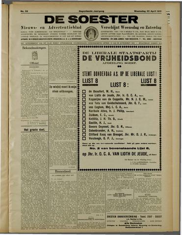 De Soester 1931-04-22