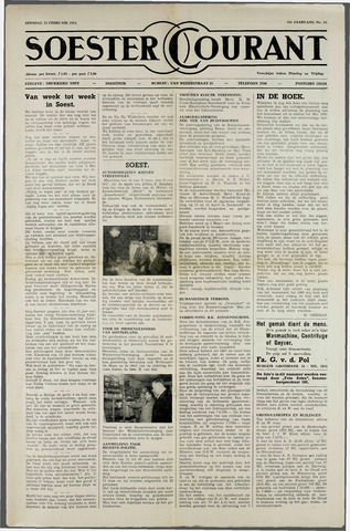 Soester Courant 1954-02-23
