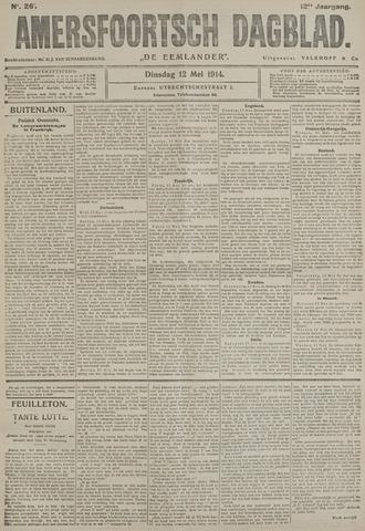 Amersfoortsch Dagblad / De Eemlander 1914-05-12