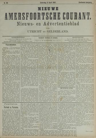 Nieuwe Amersfoortsche Courant 1887-04-09