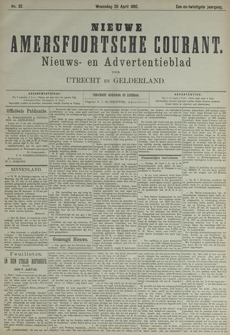 Nieuwe Amersfoortsche Courant 1892-04-20