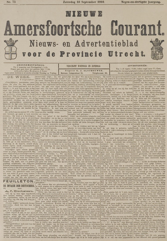 Nieuwe Amersfoortsche Courant 1910-09-10
