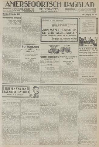 Amersfoortsch Dagblad / De Eemlander 1929-10-14