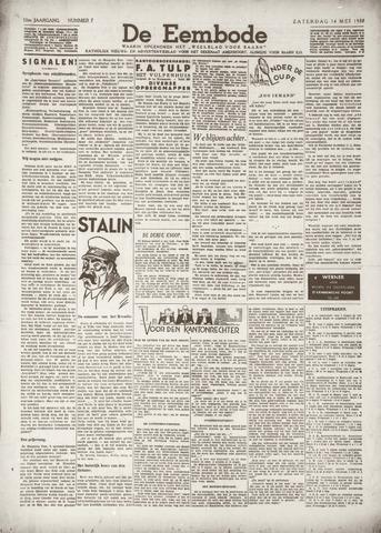 De Eembode 1938-05-14