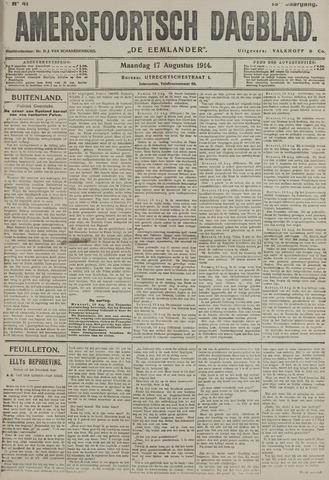 Amersfoortsch Dagblad / De Eemlander 1914-08-17