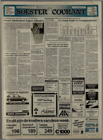 Soester Courant 1991-11-13