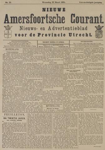 Nieuwe Amersfoortsche Courant 1905-03-22