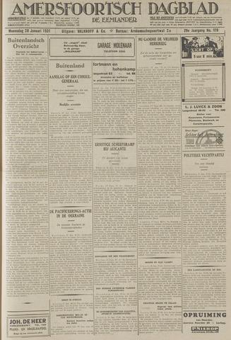 Amersfoortsch Dagblad / De Eemlander 1931-01-28