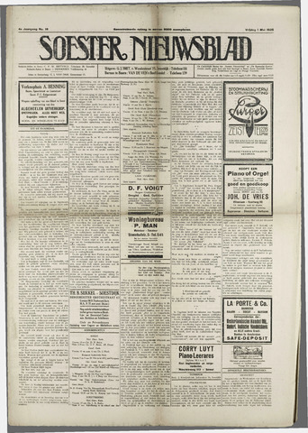 Soester Courant 1925-05-01