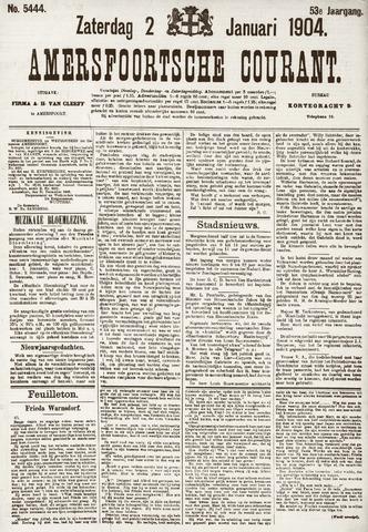 Amersfoortsche Courant 1904