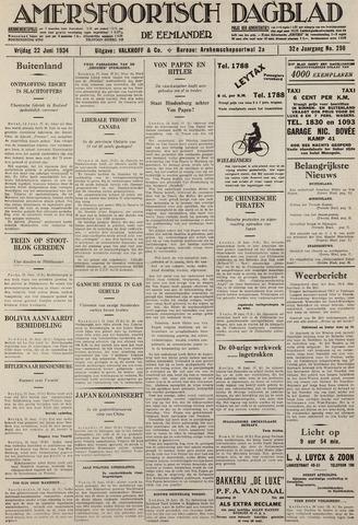 Amersfoortsch Dagblad / De Eemlander 1934-06-22