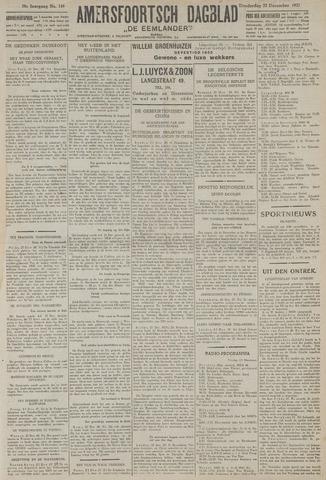 Amersfoortsch Dagblad / De Eemlander 1927-12-22