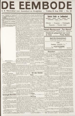De Eembode 1922-08-18