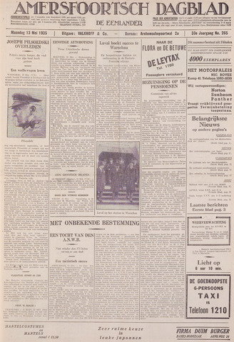 Amersfoortsch Dagblad / De Eemlander 1935-05-13