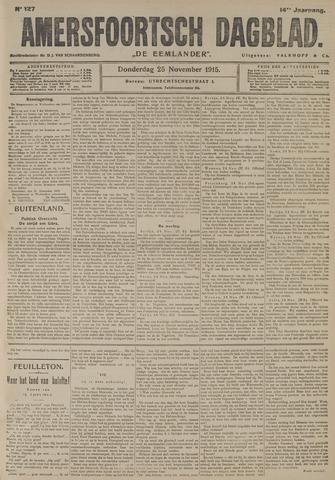 Amersfoortsch Dagblad / De Eemlander 1915-11-25