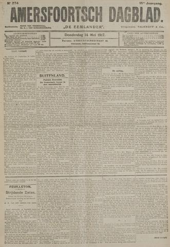 Amersfoortsch Dagblad / De Eemlander 1917-05-24