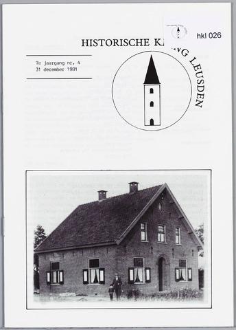 Historische Kring Leusden 1991-12-31
