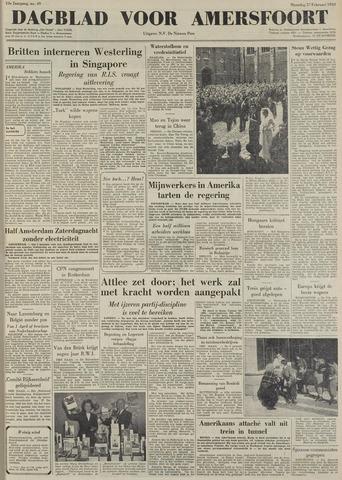 Dagblad voor Amersfoort 1950-02-27