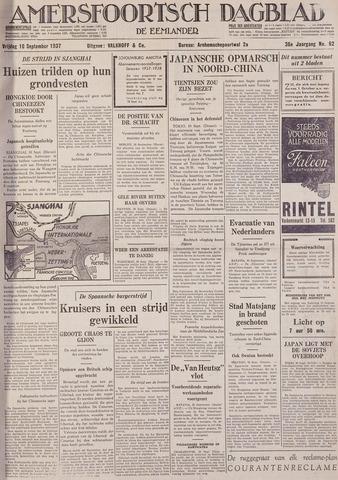 Amersfoortsch Dagblad / De Eemlander 1937-09-10