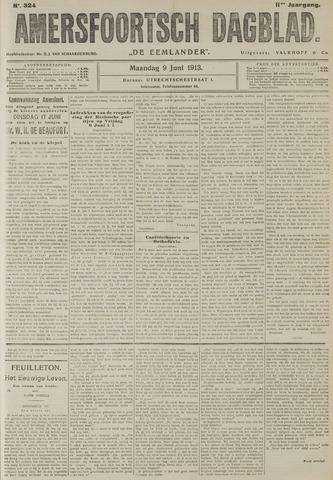 Amersfoortsch Dagblad / De Eemlander 1913-06-09